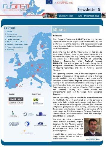 Newsletter 05 - Ruisnet.net
