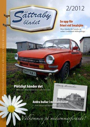 Sättrabybladet nr 2 2012