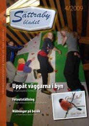 Sättrabybladet nr 4, 2009 - Hyber