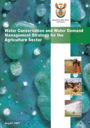 Water Conservation and Water Demand Management Strategy for ...