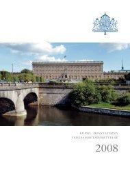 År 2008 (5 Mb) - Sveriges Kungahus