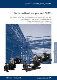 Datenheft Norm- und Blockpumpen NB/NK - Pumpenscout.de