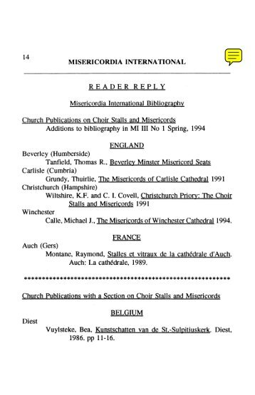 04 Bibliography - Leeds Trinity University
