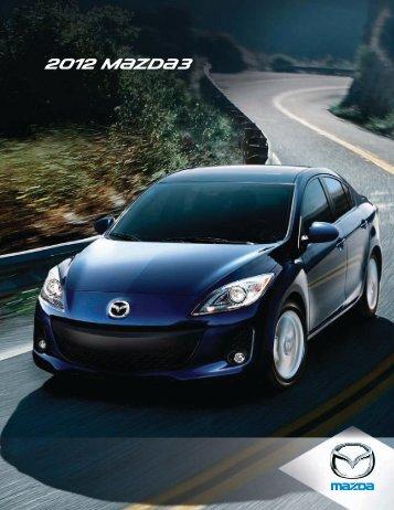 2012 M{zd{3 - Mazda Canada