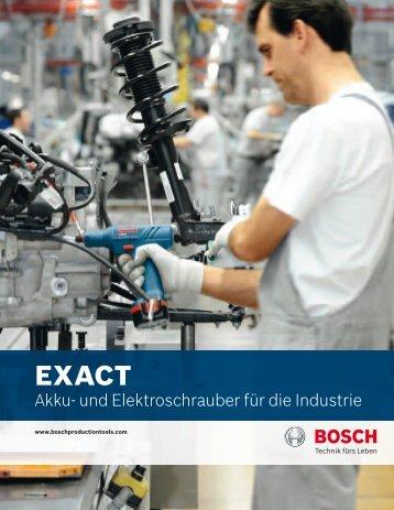 Bildalternative, wo mehr von Akku zu sehen ist - Bosch Production ...