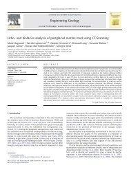 Litho- and biofacies analysis of postglacial marine mud ... - UQAM