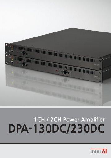 DPA-130DC/230DC - CIE-Group