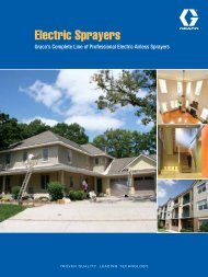 Graco Electric Airless Brochure - Spray Tech Systems Inc.