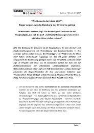 Pressetext des Landes Oö. (6. Juli 2007)