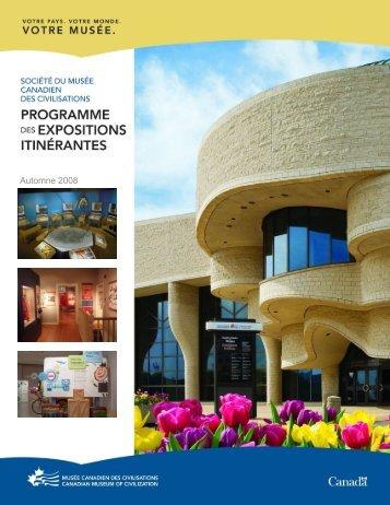 Automne 2008 - Canadian Museum of Civilization