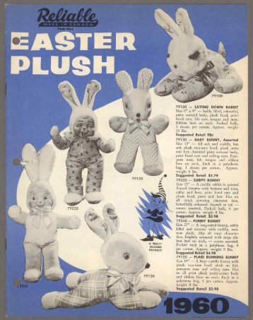 Easter Plush - 1960 PDF download