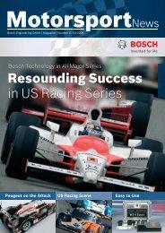 Resounding Success in US Racing Series - Bosch Motorsport