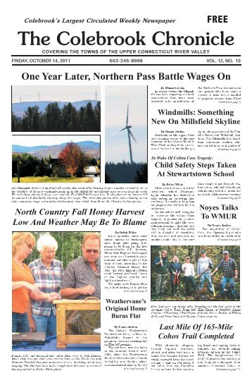 October 14, 2011 - Colebrook Chronicle