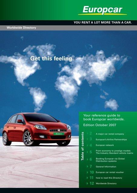 Get This Feeling Europcar