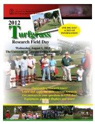 University of Georgia Turfgrass Team - 2012 - Georgia Commodities ...