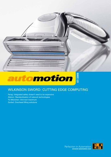 automotion automotion automotion automotion - B&R Industrie ...