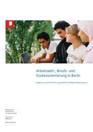 Arbeitswelt-, Berufs- und Studienorientierung in Berlin - Angebote und