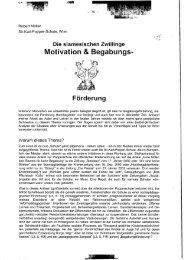Motivation & Begabungs- - Österreichische Mathematische ...