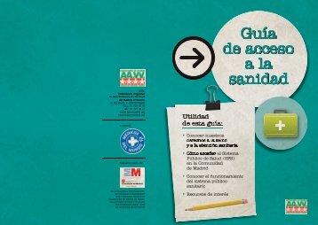Guía de acceso a la sanidad Guía de acceso a la sanidad