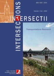 Transportations Research -