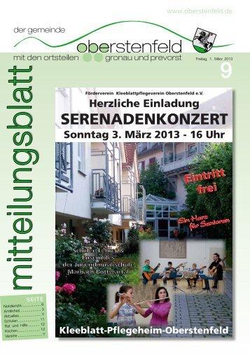 Oberstenfeld KW 09 ID 67952 - Gemeinde Oberstenfeld