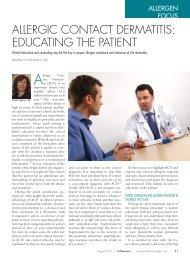 Derm08_Allergen Focus.pdf - The Dermatologist
