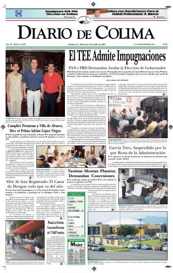 PAN y PRD Demandan Anular la Elección de Gobernador García ...