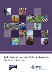 Earth System Science for Global Sustainability The Grand ... - nkgcf