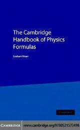 The_Cambridge_Handbook_of_Physics_Formulas