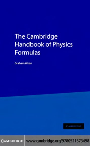 The_Cambridge_Handbook_of_Physics_Formulas