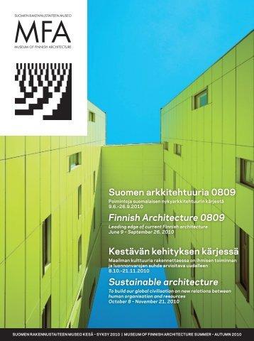 Finnish Architecture 0809 - Suomen rakennustaiteen museo