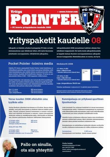 Yrityspaketit kaudelle 08 - FC Inter