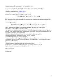 Kære selvstuderende i matematik C 2013 - KVUC