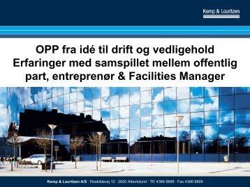 Poul Kilt, Kemp og Lauritzen AS - Dansk Facilities Management