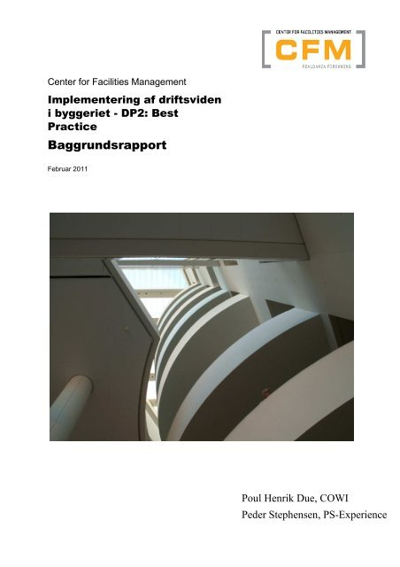 Implementering af driftsviden, baggrundsrapport - Dansk Facilities ...