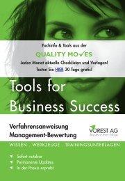 QUALITY MO ES Verfahrensanweisung Management ... - Vorest AG