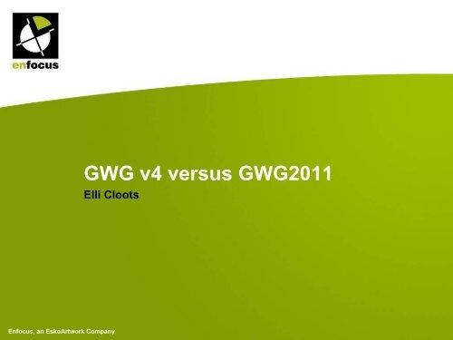 GWG v4 versus 2011