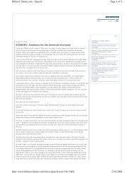 Page 1 of 6 HillaryClinton.com - Speech 2/28/2008 http://www ...