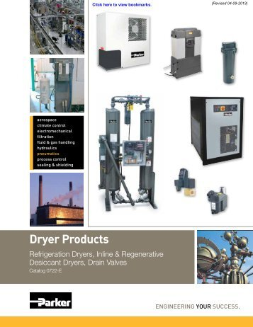 Catalog 0722-E – Dryer Products - Watts Fluid Air
