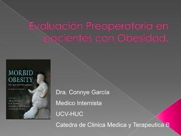 Evaluación Preoperatoria en pacientes con Obesidad.Dra ... - Aveso