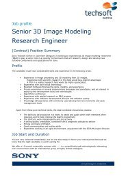 Senior 3D Image Modeling Research Engineer - iMinds