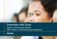 Dreamteam statt Quote - Roland Berger