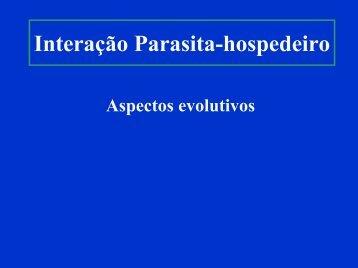 Hospedeiro - Instituto de Biologia da UFRJ