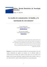 Los medios de comunicación y la familia - Helvia - Universidad de ...