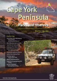 Cape York Peninsula parks and reserves visitor guide (PDF, 3.5M)