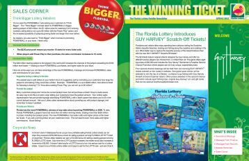 The Winning Ticket - The Florida Lottery