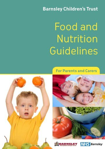 Food and Nutrition Guidelines - Barnsley Council Online