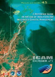 A Reference guide on the use of indicators for ... - OceanDocs
