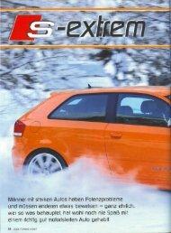 Audi Tuning (1/2007) s-extrem - MTM