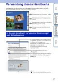 Cyber-shot Handbuch - Seite 2